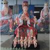 十二老母神像厂 贴金 无生老母佛像 地藏老母神像