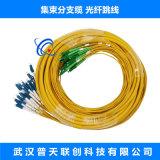 室內集束分支軟光纜跳線單模2.0子纜單模尾纜
