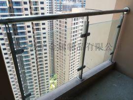 珠海小区阳台防护栏杆生产厂家 中山过道玻璃扶手定做