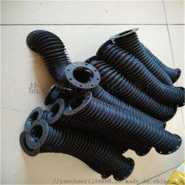 伸缩式橡胶布油缸保护套