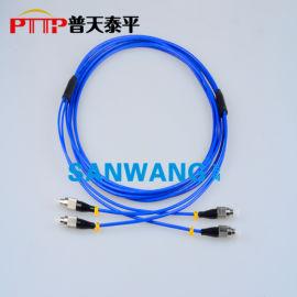 铠装光纤跳线 FC-FC铠甲光纤活动连接器
