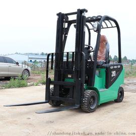 2吨叉车 四轮叉车 捷克新型电动叉车 全电动堆高车