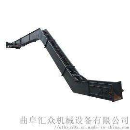 不锈钢刮板机 铸石刮板输送机 六九重工 煤渣炉灰重