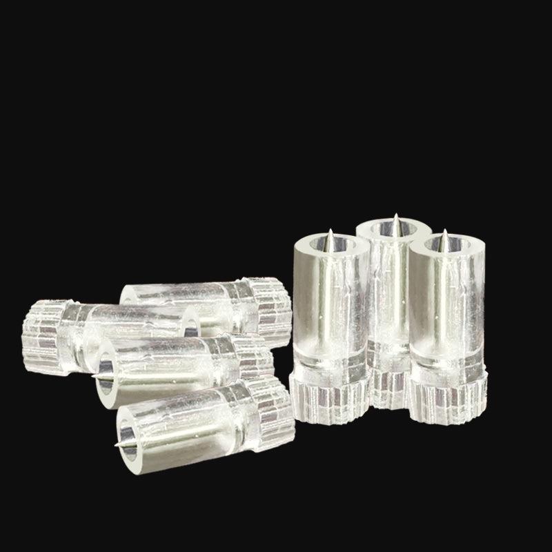 502胶水开口针塑料顶针封口针瓶口针配件