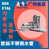 316L水管 双卡压DN10 DN15水管 欧标