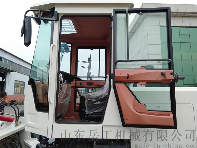 越野叉车四驱一体式液压搬运微型起重车多功能柴油叉车