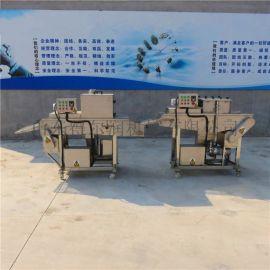 得尔润多春鱼上浆裹粉机,组合式上浆机裹粉机