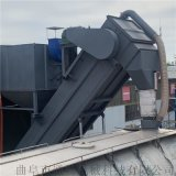粉煤灰卸集裝箱設備 碼頭散灰拆箱機 鐵運倒料機