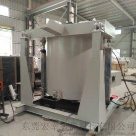 可倾式熔化炉 可倾式坩埚熔铝炉 倾斜式熔炼炉