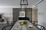 鏤空雕花金屬 現代簡約鈦金屏風 酒店定製歐中式玄關