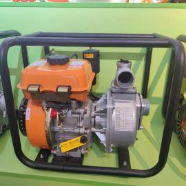 便携式灌溉汽油机水泵高扬程自吸水泵排污泵