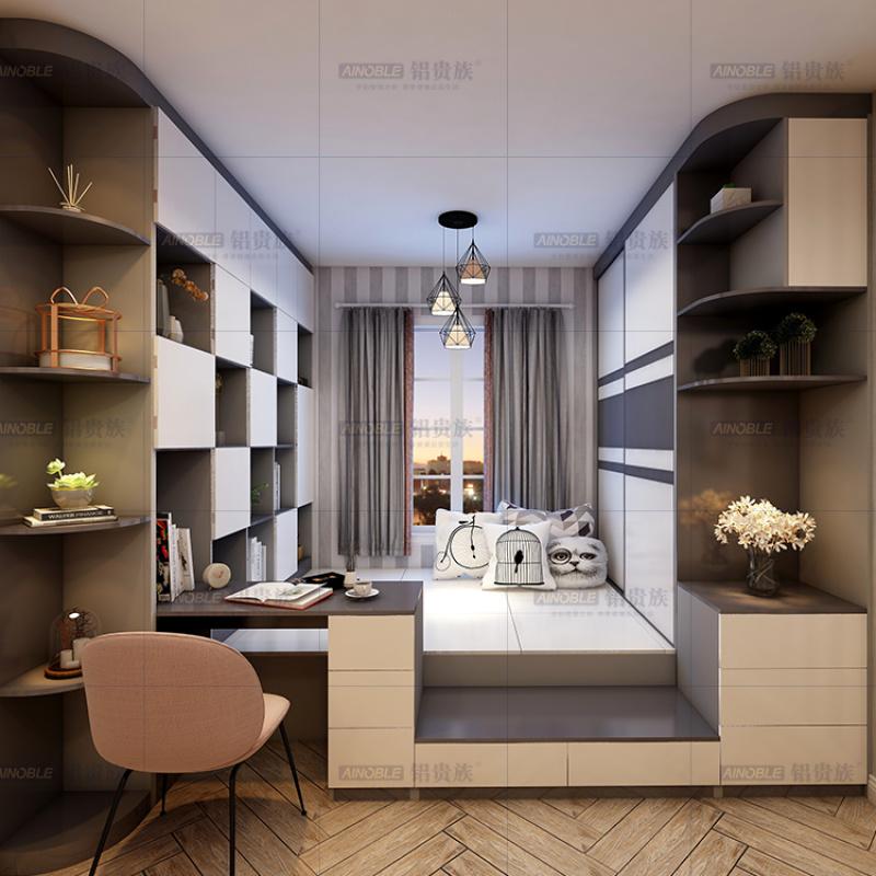 全铝合金书柜全铝鞋柜 全铝衣帽间 全铝家具