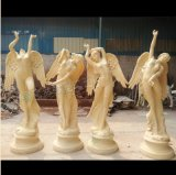 佛山砂巖雕塑天使雕像玻璃鋼雕塑