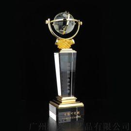 水晶獎杯 用心合作商獎杯 代理商紀念獎杯