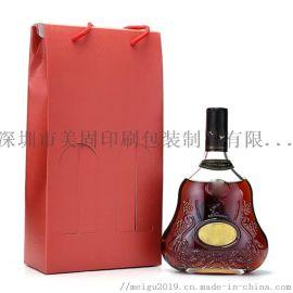 手提纸袋红酒纸袋洋酒纸袋包装定制 干货特产礼袋定制