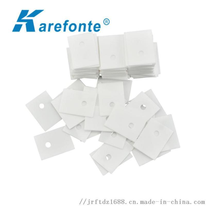 氧化铝陶瓷片12x18有孔陶瓷散热片T0-220