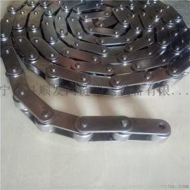 厂家直销304不锈钢链条双节距链条工业输送传动链条空心销轴链条