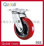 活动重型脚轮铁芯PU脚轮
