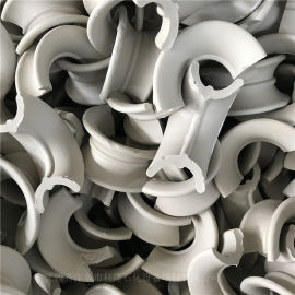 耐高温耐酸用陶瓷矩鞍环陶瓷异鞍环陶瓷马鞍环填料