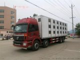 歐曼9.6米運豬車 雛禽運輸車