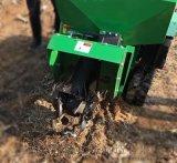 甘肃履带自走式果园田园管理机  开沟施肥回填一体机