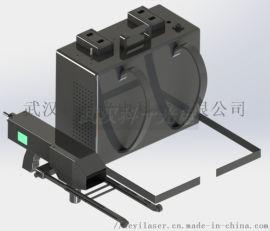 可出口的100W背包式激光除锈机安全快捷