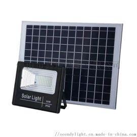 30W太阳能投光灯农村家用户外庭院灯LED灯