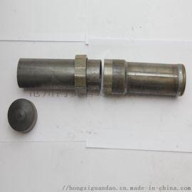 螺旋式桥梁桩基声测管 螺旋式混凝土超声波检测管