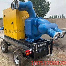 防汛柴油抽水机 耐腐蚀立式抽水排洪轴流水泵