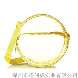 裕创威 单肩包 斜跨包 PVC包 透明包包