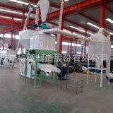 养鸡用环模造粒设备生产线 时产1吨的饲料机组