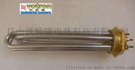 法兰加热管模温机电热管导热油加热管