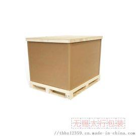 汽车零部件包装箱 天地盖纸箱订做