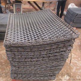 钢梯脚踏网 建筑脚踏网 菱形网