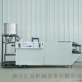 豆皮生产线 豆皮机图片 六九重工陕西做豆腐皮的机器