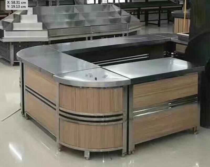 郑州超市收银台定做