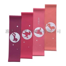 加宽健身弹力环运动瑜伽拉伸阻力带乳胶运动拉力圈