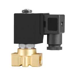 进口黄铜微型电磁阀-内螺纹连接-水-热水-空气