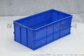 东莞周转塑料胶箱仓储整理工具箱储物箱堆码物料箱
