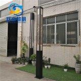 3米4米中式庭院燈仿雲石電鍍景觀燈定製復古照明路燈