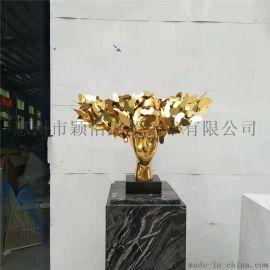 鐵艺雕塑-室内雕塑-口碑大厂