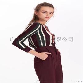 欧比特台湾装**大码贵妇连衣裙女装品牌折扣走份直播