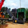 通暢集裝箱粉煤灰卸車機 礦粉熟料中轉拆箱機 卸灰機