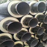預製聚氨酯直埋保溫管 DN50/60聚氨酯塑料預製管大興安嶺