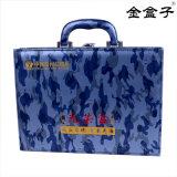 紀念禮品軍人光榮盒 海軍珍藏軍裝包裝盒皮盒定做