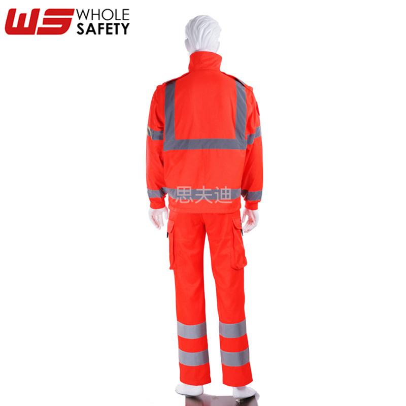 厂家供应应急反光救援服 定制透气舒适救援服