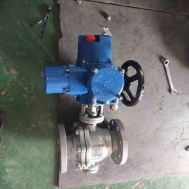 智能调节型电动球阀Q941F-16C DN100