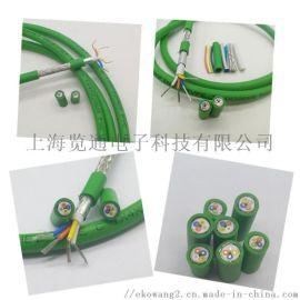 工业四芯网线MODBUS TCP/IP通讯电缆线