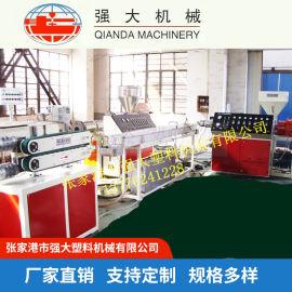 大口径PE管材生产线 包塑线