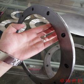 波形金属垫片 管路金属齿形垫片 双面贴石墨齿形垫片定制 卓瑞